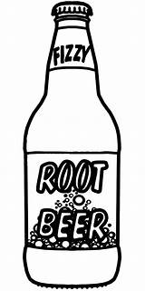 Bottle Coloring Beer Pages Root Soda Drawing Clip Sprite Bottles Print Printable Clipart Sheet Sketch Rootbeer Alcohol Template Easy Abcteach sketch template