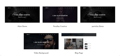 personal website templates  resources