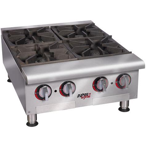 propane countertop stoves liquid propane apw wyott hhp 636 heavy duty 6 burner
