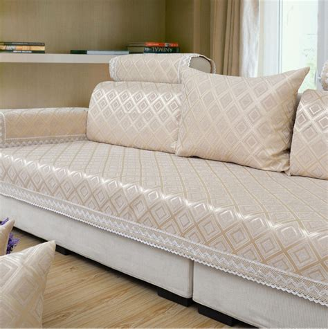 Best Fabric For Sofa Cover aliexpress buy modern brief plaid sofa covers