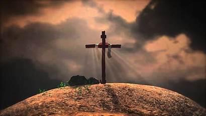 Jesus Cross Holy Friday Nature Words Last