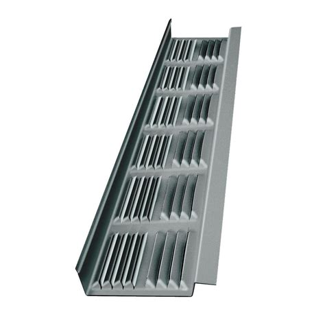 bathroom fan soffit vent home depot master flow 8 ft aluminum eave soffit vent in
