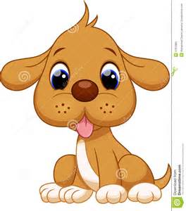 Cute Cartoon Puppy