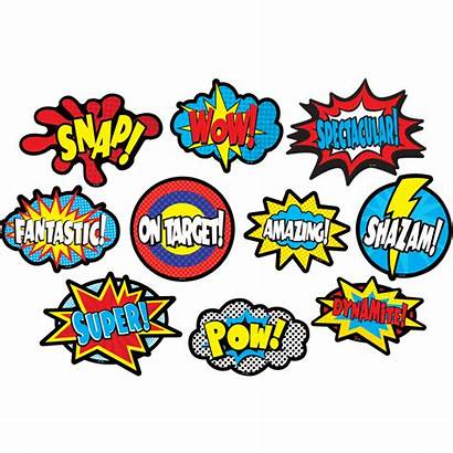 Superhero Sayings Accents Clingy Classroom Teacher Resources
