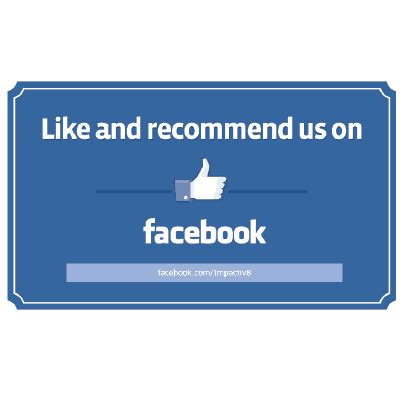 Like Us On Sticker Template by Business Resources Free Downloads From Impactiv8