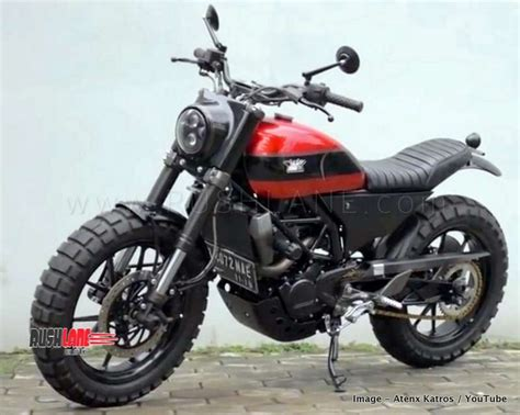 Ktm Duke 200 Modified Into A Scrambler