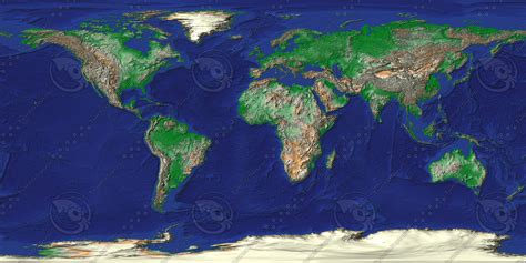texture  world map earth