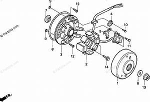 Honda Motorcycle 1999 Oem Parts Diagram For Alternator