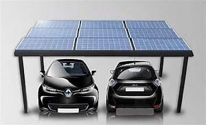 Rentabilite Autoconsommation Photovoltaique : carport ou pergola photovolta que ~ Premium-room.com Idées de Décoration