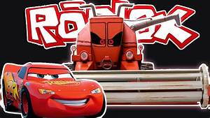 Light Me Roblox Cars The Movie Save Lightning Mcqueen Youtube