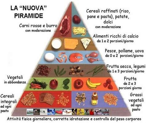 nuova piramide alimentare italiana la nuova piramide alimentare americana sport e medicina