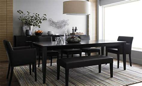 esstisch schwarz holz tr 228 umen sie einem designer esstisch in ihrem essbereich