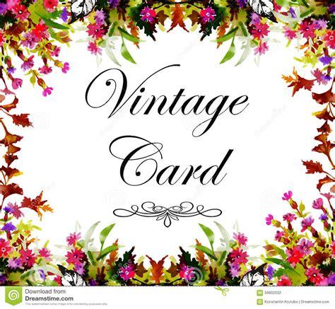 o cart 227 o com flores aquarela pode ser usado como o cart 227 o do convite o casamento o