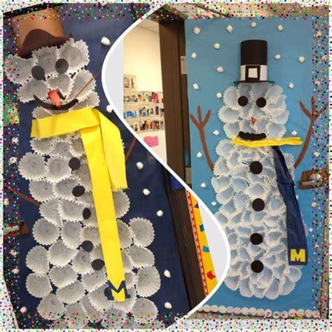 snowman class decor winter wonderland thema winter