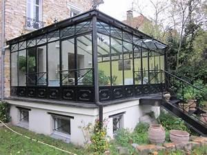 Véranda Fer Forgé : verandas a l 39 ancienne ~ Premium-room.com Idées de Décoration