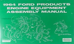 1964 Ford Galaxie Wiring Diagram Manual Reprint
