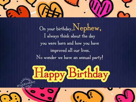Birthday Images For Nephew Birthday Wishes For Nephew Birthday Images Pictures