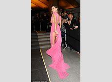 Miranda Kerr's cleavage on display at Magnum party in