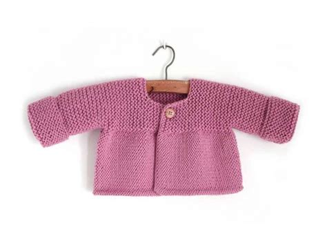Free Knitting Pattern For Baby Cardigans ⋆ Knitting Bee