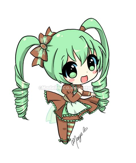 anime chibi mina chibi trade by madelinecg on deviantart