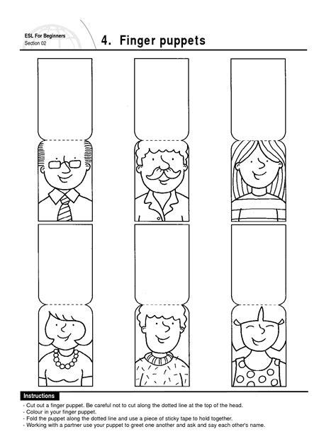 finger puppets vingerpopjes voor kleuters preschool