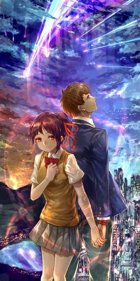 Anime Couple Terpisah Kimi No Nawa 17 Best Images About Kimi No Na Wa ଘ ੭ 180 ᵕ ੭ On Pinterest