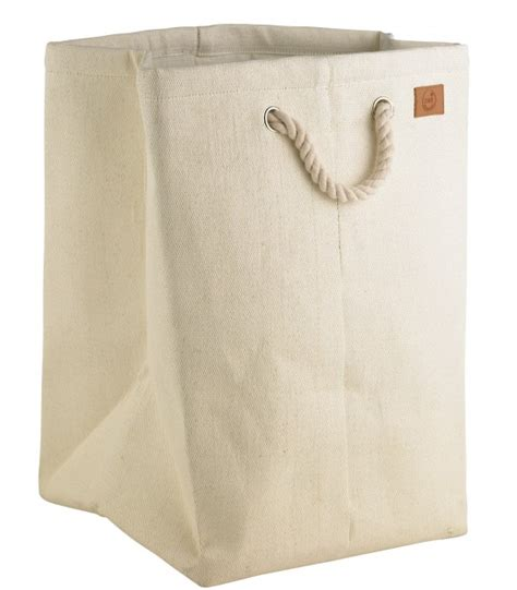 grand panier 224 linge gris anthracite et gris clair en coton et polyester wadiga
