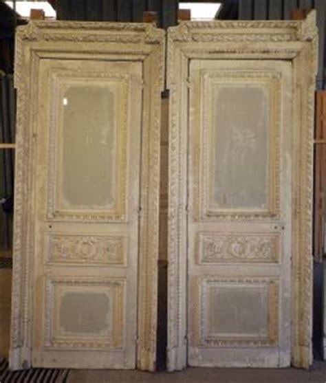 portes de communication anciennes pleines 2 vantaux vente de portes anciennes et contemporaines