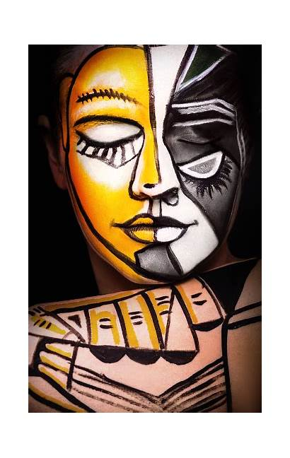 Surrealism Face Woman Makeup Abstract Eye Adult
