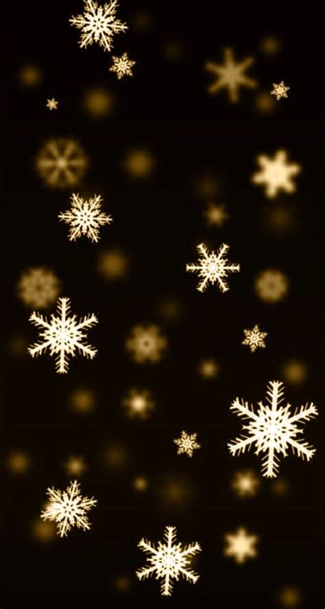 Gold Winter Wallpaper Iphone by Gold Snowflakes Wallpaper Snowflake Wallpaper