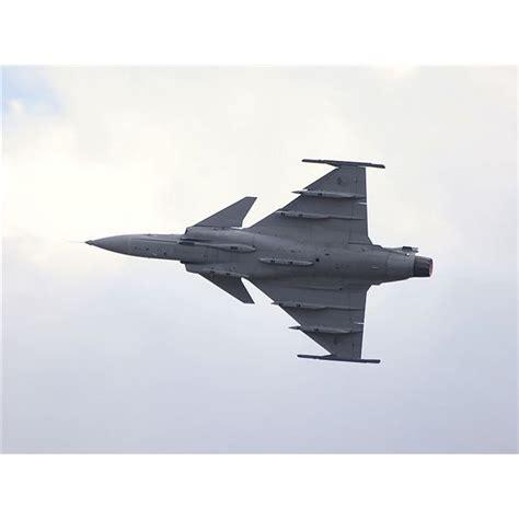 The Saab Jas 39 Gripen Fighter Jet