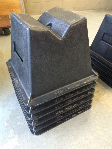 Pontoon Storage Blocks by Jacks Pontoon Storage Blocks New Lot Of 6