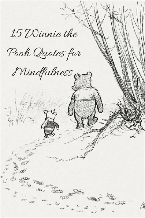 winnie  pooh quotes  mindfulness kerry louise