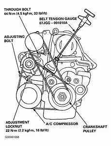 2003 Honda Accord V6 Serpentine Belt Diagram