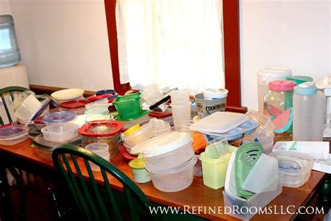 how to organize plastic containers in kitchen organizing plastic ware refined rooms professional 9503
