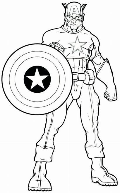 Coloring Comic Pages Comics Marvel Superhero Strip
