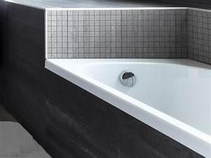 peindre son carrelage de salle de bains en 3 etapes elle With calcaire carrelage salle de bain