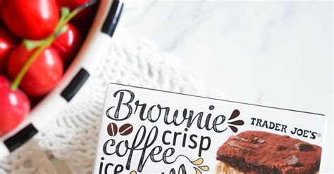 Does powdered green tea have more caffeine? Sweet on Trader Joe's Saturday: Brownie Crisp Coffee Ice Cream Sandwiches | Bake at 350°