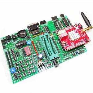 8051  At89s52 Development Board Atmel Microcontroller Rs232