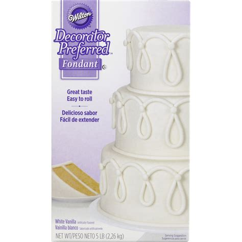 Wilton Decorator Preferred Fondant Vegan decorator preferred white fondant 5 lbs wilton