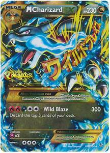 M Charizard EX - XY Flashfire #108 Pokemon Card