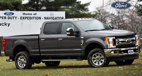 ford  series super duty begins production opens