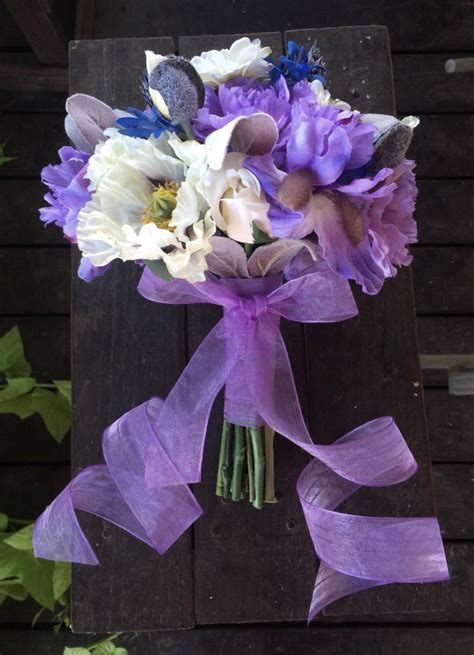 Quick Ship Lavender Carnation Iris And Soft Lambs Ear