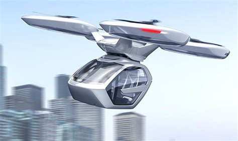 Audi Flying Car by Audi Flying Car Designed With Airbus And Italdesign Could