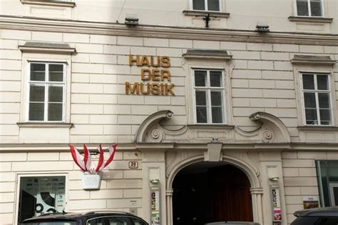 House Of Music Sign  Picture Of Haus Der Musik, Vienna
