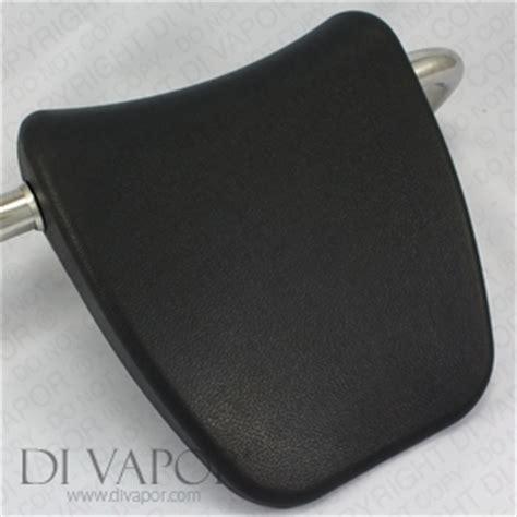 vapor  grey whirlpool bath headrest pillow  metal mounting bars cm ebay