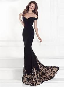 Women's off Shoulder Floor Length Evening Dress NOVASHE