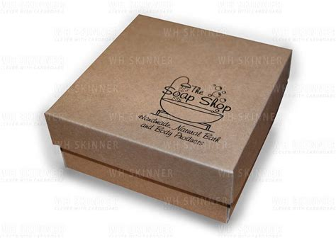 Gift Box Soap Packaging