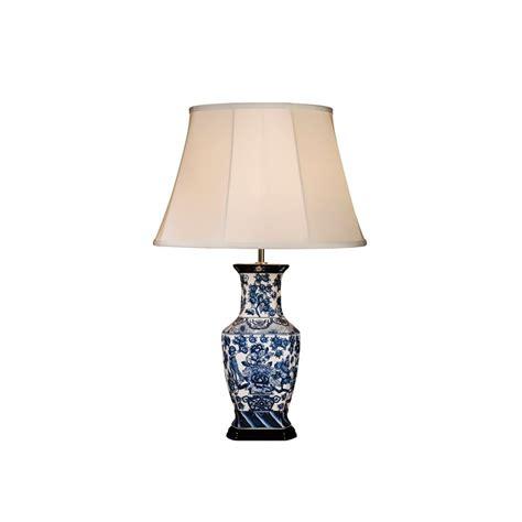 le blue hexagone vase sans abat jour