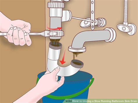 unclogging  bathroom sink drain mycoffeepotorg